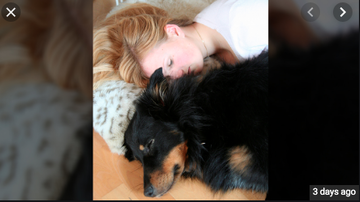 Qui West - Study Says Women Sleep Better With Dogs By Their Side!