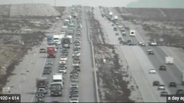 Qui West - Traffic Backed Up From Las Vegas To California Lasted More Than 20 Miles!