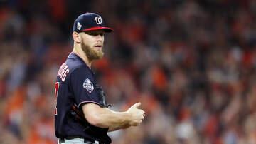 Sports News - Dodgers Reportedly Met With Stephen Strasburg Last Week