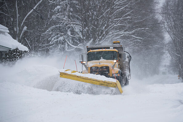Major Winter Storm Hammers East Coast With High Winds And Heavy Snow
