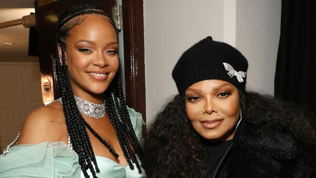 Janet Jackson & Rihanna Share A Beautiful Moment At British Fashion Awards