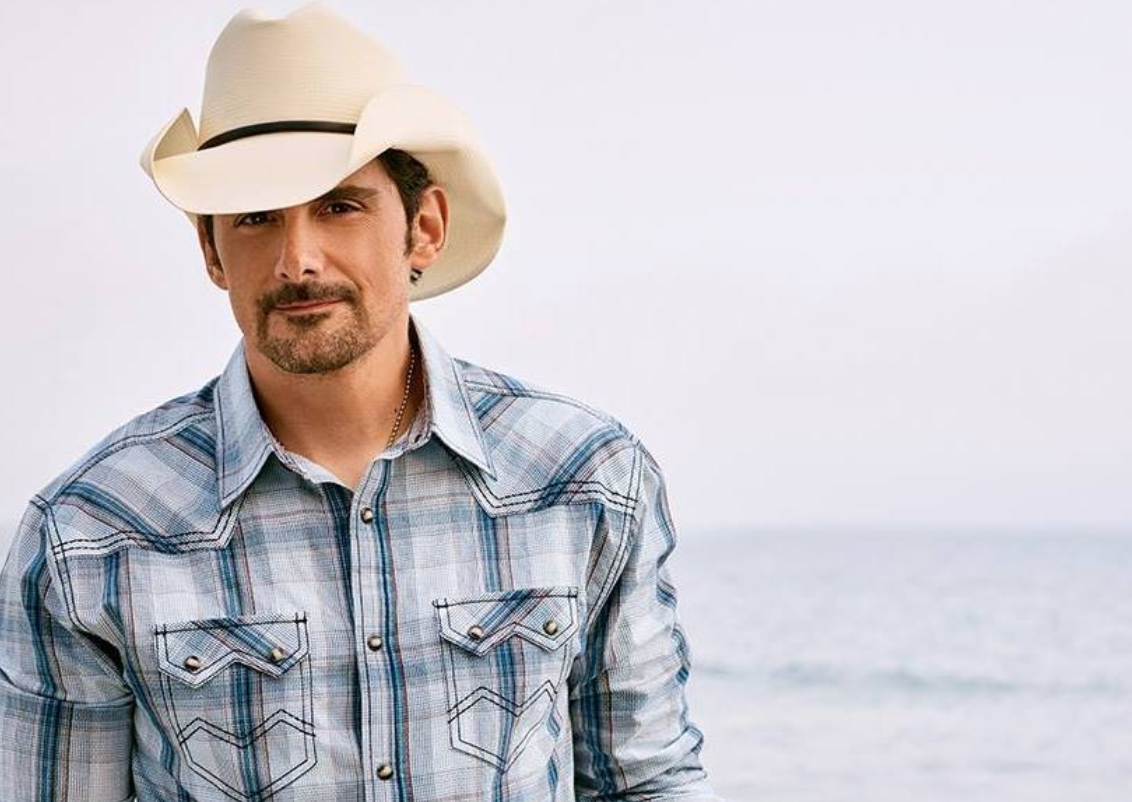 """Brad Paisley On Why He Keeps Guitars In Freezer + """"The Store"""" Project"""