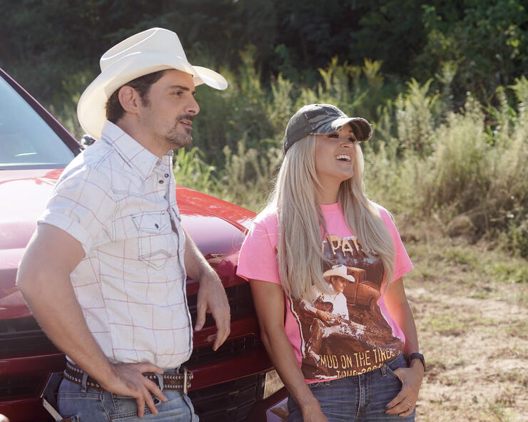 Carrie Underwood's Driving Scares Brad Paisley To Death