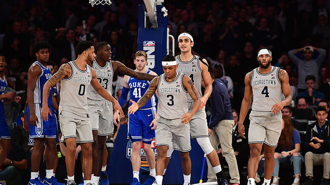2K Empire Classic- Duke Blue Devils v Georgetown Hoyas