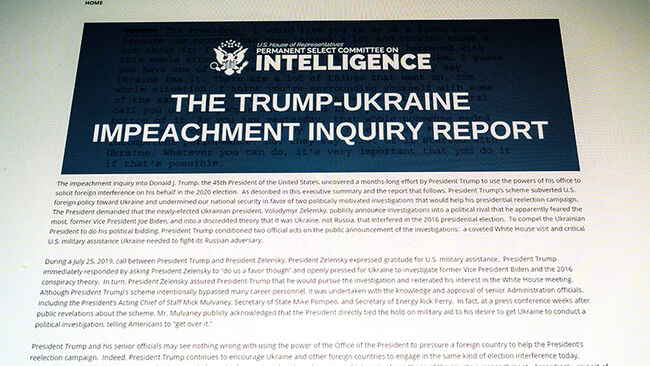US-POLITICS-IMPEACHMENT-REPORT