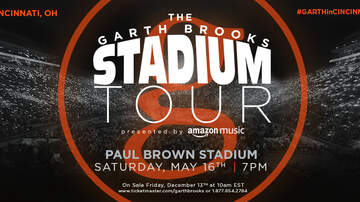 image for Garth Brooks plays Paul Brown Stadium