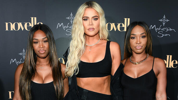 Khloe Kardashian Defends 'Incredible' Friends For Helping Tristan Thompson   iHeartRadio