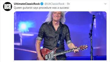 Paul and Al - Brian May Of Queen Says Leg Surgery A Success