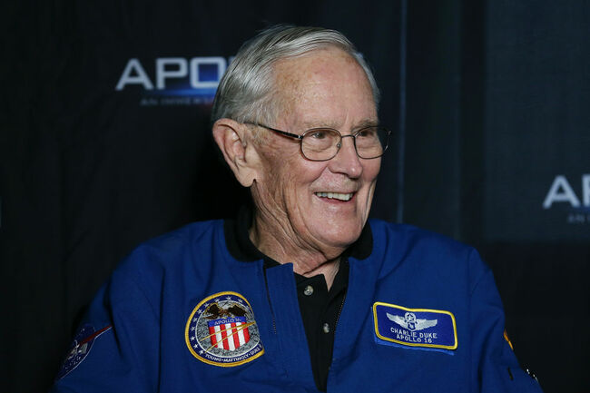 Apollo 16 Astronaut Honored As Texan Of The Year