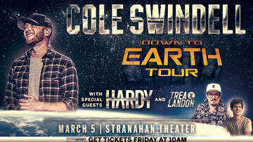 image for Cole Swindell Down to Earth Tour