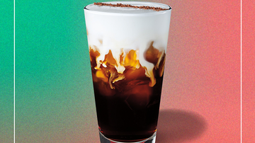Holidays - Starbucks Debuts New Holiday Drink Called Irish Cream Cold Brew