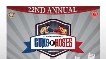 None - GUNS N HOSES BATTLE OF THE EAST COAST NYPD VS JAX FIRST RESPONDERS