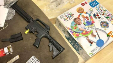 National News - Florida Couple Buys Baby Bouncer At Goodwill, Finds Rifle Inside