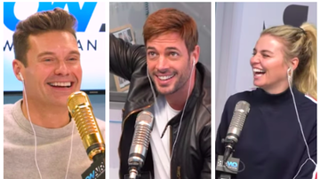 Ryan Seacrest -  William Levy Plays 'Do You Know Me?' Game, Leaves Tanya Rad Speechless