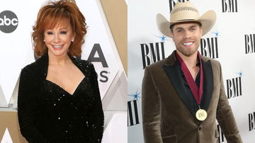 iHeartCountry - Dustin Lynch Kept Reba McEntire's Tissues From His Emotional Opry Induction