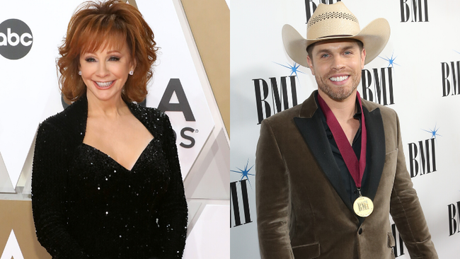 Dustin Lynch Kept Reba McEntire's Tissues From His Emotional Opry Induction