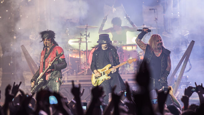 Motley Crue's farewell tour 'The Final Tour'