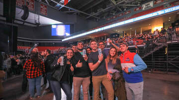 Miller Lite Mystery Show Blog - Crowd Cam at our 2019 Miller Lite Mystery Show at Liacouras Center