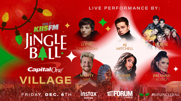 Jingle Ball - Louis Tomlinson, AJ Mitchell & More To Perform At KIIS Jingle Ball Village
