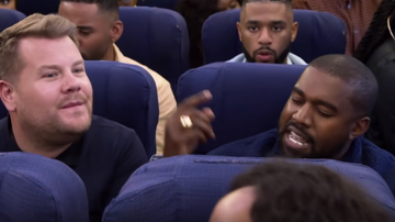 image for Carpool (airplane) Karaoke with Kanye West