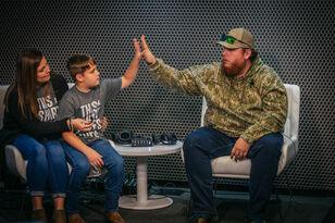 St Jude Radiothon: Luke Combs Surprises St. Jude Patient In Studio