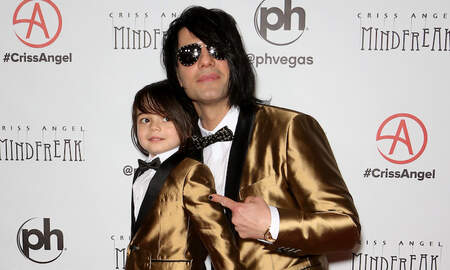 Entertainment News - Criss Angel Reveals 5-Year-Old Son Johnny's Cancer Has Returned