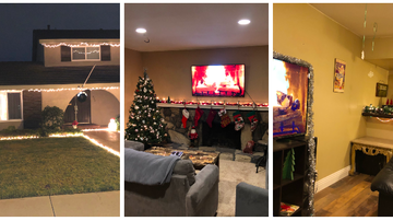Ryan Seacrest - Seacrest Helps Judge Five Dudes' Roommate Holiday Decoration Competition