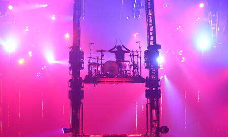 Rock News - Mötley Crüe's Tommy Lee Worried About Topping Himself With New Drum Stunt