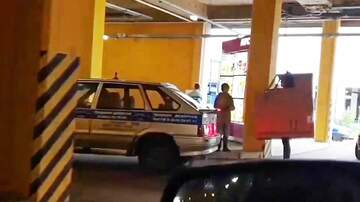Hitman - Man Stands in Drive-Thru Disguised as a Car