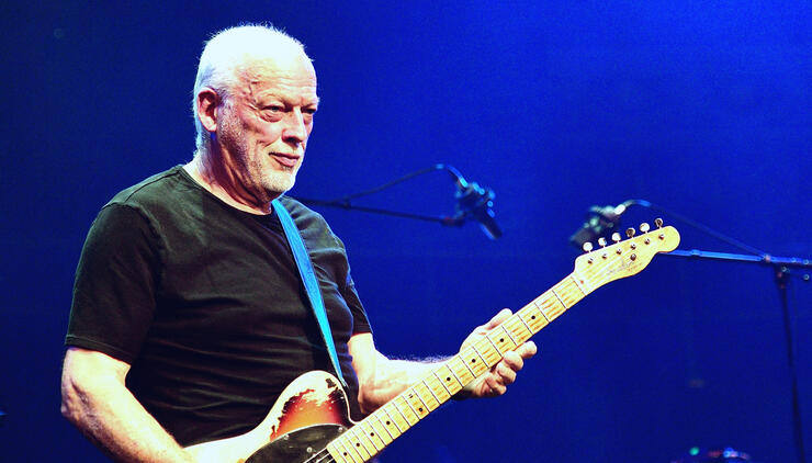 David Gilmour Recalls The One Time He Refused To Go Onstage With Pink Floyd | iHeartRadio