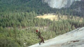 Frank Bell - Never Try This at Home! Roping Swinging in Yosemite!