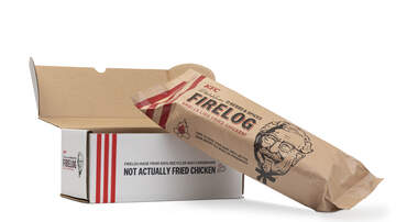 The Insider - Walmart's New KFC-Scented Firelog is Comfort Food for Your Nose
