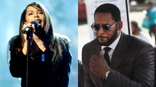 R. Kelly Charged With Bribing Official To Marry 15-Year-Old Aaliyah