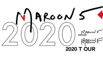 image for Maroon 5 2020 Tour