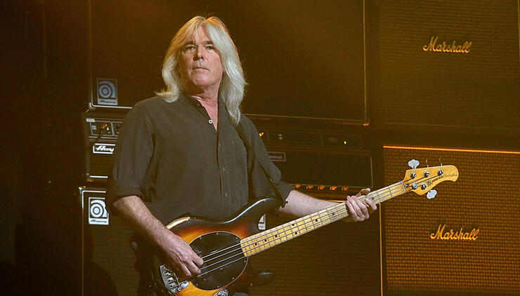 AC/DC Bassist Cliff Williams Gets Back On Stage At Florida Party | iHeartRadio