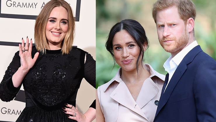 Meghan Markle & Prince Harry Hang With Adele In Previously Unseen Photos | iHeartRadio