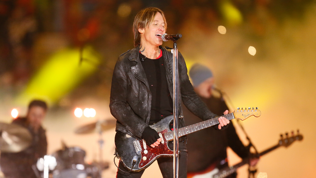Keith Urban Drops Festive 'I'll Be Your Santa Tonight' Music Video