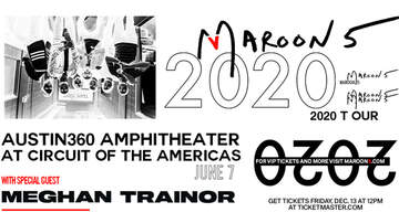 None - Maroon 5 at Austin360 Amphitheater on June 7, 2020