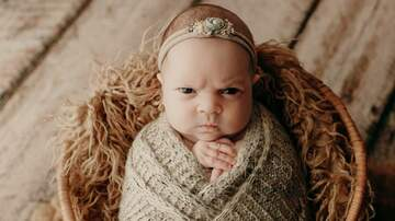 Claudia - 'Grumpy Baby' Photo Shoot Goes Viral