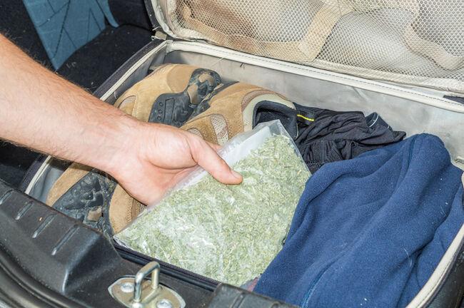 drug smuggling in case