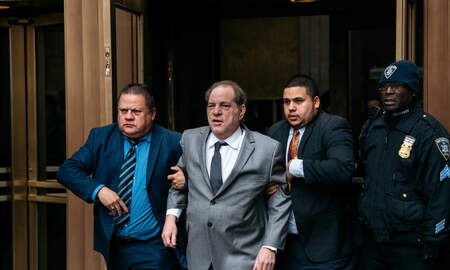 National News - Prosecutors Accuse Harvey Weinstein of Misusing Ankle Monitor