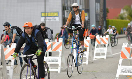 Local News - CicLAvia Ends Year With First-Ever West Valley Event