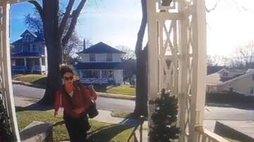 Ritch Cassidy - Omaha Police Need Help Identifying BOLD Female Porch Pirate