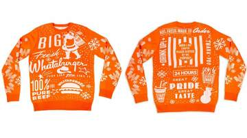 Houston's Morning News - Whataburger, other fast food chains offer 'ugly Christmas sweaters'