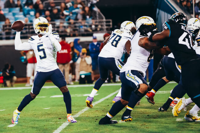Chargers Rout Jaguars as Rivers Throws 3 TDs Passes on 38th Birthday