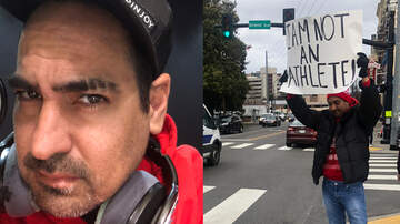 Bobby Bones - Eddie Got His Eyebrow Shaved & Held A Sign On The Street For An Hour