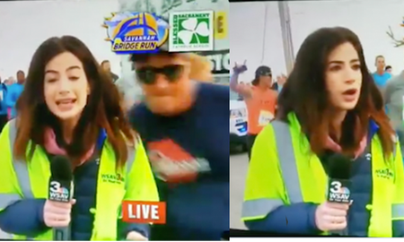 National News - Reporter Claps Back At Man Who Slapped Her Butt Live On Air