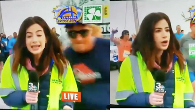 Reporter Claps Back At Man Who Slapped Her Butt Live On Air