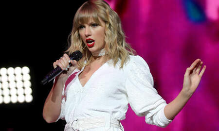 Trending - Watch Taylor Swift Perform 'Christmas Tree Farm' Live For The First Time