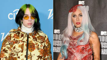 Trending - Billie Eilish Hits Back At Lady Gaga Fan Backlash Over Meat Dress Remark